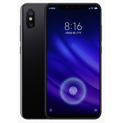 Смартфон Xiaomi Mi 8 6/128GB Fingerprint edition Black